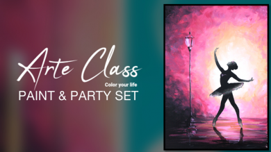 Arte Class Paint & Party set -